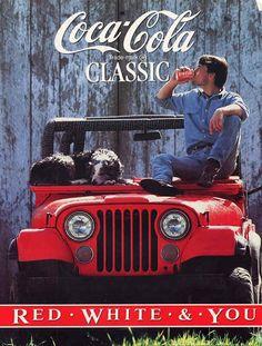 Affiche Coca Cola de 1986 - A la cool