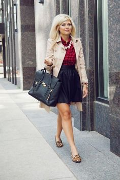 What clothing item screams Fall fashion? Plaid is the clear answer.