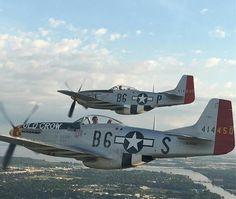 P-51 MUSTANG'S