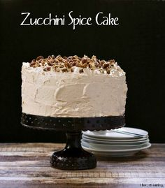 Zucchini Spice Cake and more zucchini recipes you need to make this summer.