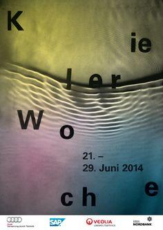 ✖ Kieler Woche 2014 - studio jung / graphic design
