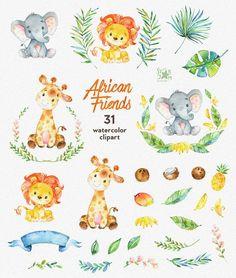 Diese afrikanische Tiere Clipart ist genau das, was man benötigt, für die vollkommene Einladungen, Craft-Projekte, Papierprodukte, Partydekorationen, bedruckbar, Grußkarten, Plakate, Briefpapier, Scrapbooking, Aufkleber, T-shirts, Baby-Kleidung, Webdesigns und vieles mehr. ::: INFORMATIONEN::: Diese Sammlung umfasst 31 Clipart-Elemente: -31 Elemente in separaten PNG‑Dateien, transparenter Hintergrund Größe ca.: 12-3 In (3600-900px) 300 dpi RGB ::: NUTZUNGSBEDINGUNGEN::: ► Persönliche o...
