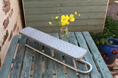 Mini Tabletop Ironing Board Mid Century Home. by AtticBazaar on Etsy Tabletop Ironing Board, Work Surface, Mid Century House, Outdoor Furniture, Outdoor Decor, A Table, British, War, History