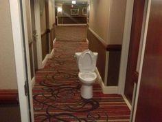 Go Home, Toilet... ...youre drunk.