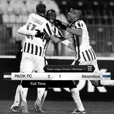 #PAOKATR 2-1 #SuperLeague #PamePAOKARA
