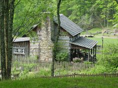 Pioneer Farm is a working, historical farm within Twin Falls State Park in Wyoming County, West Virginia. Photo by david_e_waldron, via Flickr -