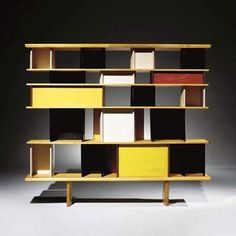 """Mexique"" Library (1953) by Charlotte Perriand"