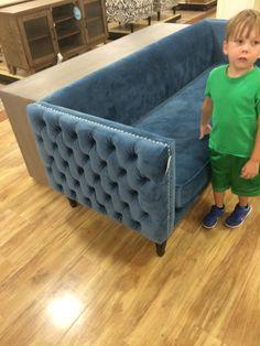 Delightful Mid Mod Velvet Couch Nicole Miller Design Inspirations