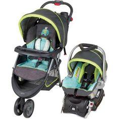 Infant Car Seat Travel Stroller System Folding Canopy Base Unisex Baby Trend New  | eBay