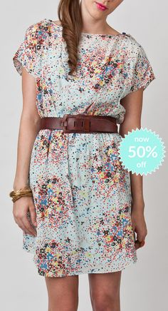 Robin Dress-Chasing Daisies now 50%off!