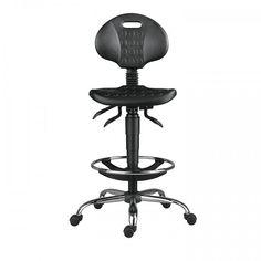 Scaune de birou ergonomice si conferință Scaun industrial profesional 1290 PU Antares Industrial, Industrial Music