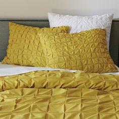 Jenn Ski: West Elm sale items  mustard throw / comforter