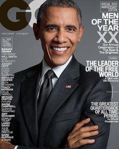 Barack Obama en portada de GQ USA Diciembre 2015 | Male Fashion Trends