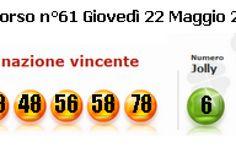 #SUPERENALOTTO ESTRAZIONI QUOTE E SUPERSTAR GIOVEDI 22 MAGGIO 2014 #supenloto #estrazione #lotto #quote