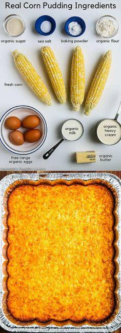 Real Corn Pudding -