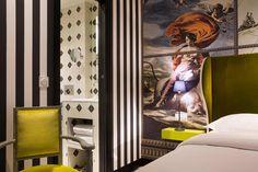 Hotel du Continen. Location: Parigi, France; firm: couturier Christian Lacroix; year: 2013