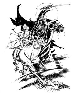 Sleepy Hollow by Eric Canete Comic Art