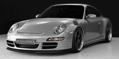 MOSHAMMER Aerodynamic Parts for Porsche 997 Carrera / to have the classy look of the legendary RS models in a modern interpretation. Porsche Autos, Porsche 911 997, Porsche Cars, Freaks And Geeks, Vintage Porsche, Bugatti Cars, Sled, Cars And Motorcycles, Cars