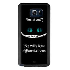 Alice in Wonderland Samsung Galaxy Note 5 Case, Onelee [Never fade] Disney Alice in Wonderland We're all mad here Cheshire Cat Samsung Galaxy Note 5 Black TPU and PC Case [Scratch proof]. Technology: Mirror Technic Sekio Ink Printing Patern. Material: Japan Teijin Panlite PC. Shipment usually takes 8-15 days since an order is placed to arrive your address. Standard package includes:1* Onelee customized phone case stand & 1* onelee brand packaging. Onelee brand. All Right…