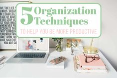 Here are 5 organization techniques that will shift your balance from chaos to organized. You won't believe how much more productive you will become! Increase Productivity, Getting Organized, Homemaking, Serendipity, Declutter, Explore, Life, Organization, Home Economics