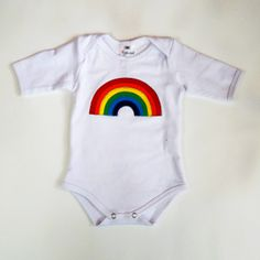 Follow the rainbow! Introducing the Glammic onesie! Currently available in Size 9-month. $35.