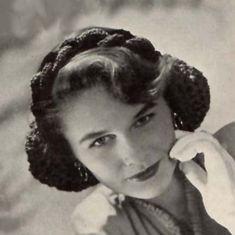 1940s Braided Head Band Snood Pattern Vintage Crochet Hair   Etsy Snood Pattern, Nostalgia, Creative Skills, Bad Hair Day, Crochet Hair Styles, Christian Women, Vintage Crochet, Digital Pattern, Retro