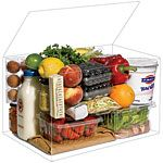 Great idea! Packing food in a single cooler (and a grocery bag) to feed four people for the weekend. Keep your healthy eating habits, avoid fast food, save money and eat well! Gotta save this for a trip this summer.