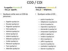 Les pronoms personnels COD/COI