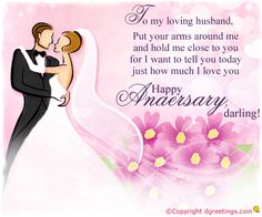To my loving husband, Anniversary Cards for Husband Anniversary Cards For Husband, Happy Anniversary Quotes, Wedding Anniversary, I Love You Husband, Cake For Husband, Happy Birthday Celebration, 31st Birthday, Happy Anniversery, Birthday Banner Design