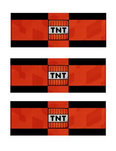 """I created these """"TNT"""" printouts to wrap around Hershey Bars for inside the kids' goody bags."""