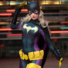 Anime Cosplay Batgirl (Stephanie Brown), by MaidOfMight - More memes, funny videos and pics on Batgirl Cosplay, Dc Cosplay, Anime Cosplay, Best Cosplay, Cosplay Girls, Female Cosplay, Sonic Fan Characters, Cosplay Characters, Dc Comics Characters