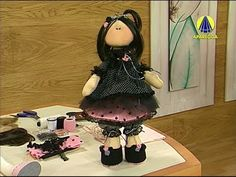Sabor de Vida Artesanatos | Menina Russa de Natal por Andrea Malheiros - 06 de Dezembro de 2013 - YouTube