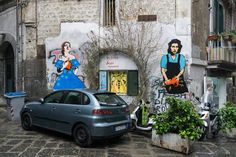 Our love for Street Art has no boundaries. We'll take you to our favorite corners of Naples during our exclusive Photo Walk of the city: http://personalizeditaly.com/tours/naples-photography-walk/