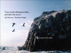 Jack Kerouac - Desolation Angels #jackkerouac #travel