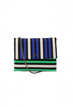 Lanvin Mini Sugar Striped Bag