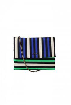 Lanvin Mini Sugar Striped Bag