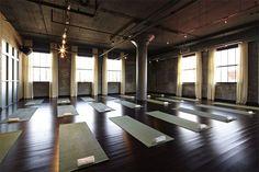 800 square foot yoga studio