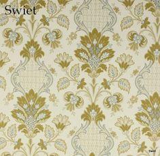 Subtiel barok behangpapier | Swiet