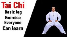 Tai Chi Basic leg Exercise Everyone can learn | Tai Chi