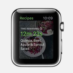 Green Kitchen App for Apple Watch