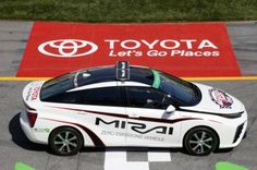 Toyota Mirai pace car