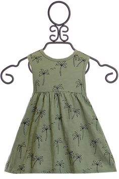 Rylee and Cru Palm Tree Dress Girls