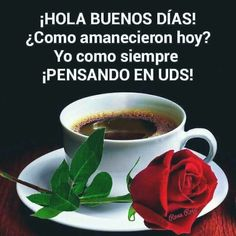 Coffee Time, Morning Coffee, Good Morning, Proverbs Quotes, Morning Greeting, Spanish Quotes, Tableware, Food, Ohana