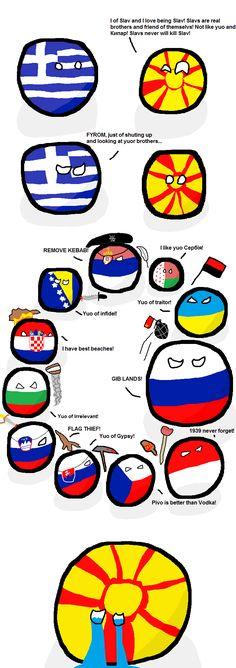 Slavic Brotherhood - Polandball