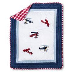 Sweet Jojo Designs Vintage Aviator 11 pc. Crib Bedding Set