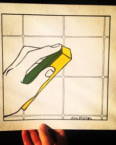 Come clean  #confess #newbeginning #sponge #tile #kitchen #bathroom #comeclean #illustration #peace #maniccleaner #minimal #contemporary #ninacaterinamuller #custom #original