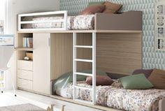 Si quieres que tus hijos compartan habitación, quizás estés en el dilema de elegir entre literas o camas tren. Descubre qué ventajas te aporta cada opción