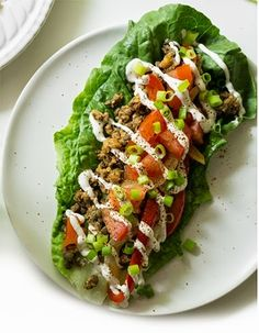 Ultimate Green Taco Wraps | The Best Food Recipes Blog