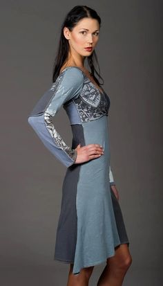 upcycle dress/shirt idea