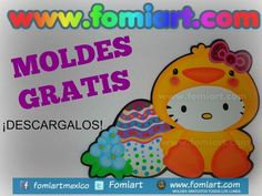 Hello Kitty, Jpg, Fictional Characters, Welcome Signs, Easter Eggs, Free Pattern, Trapper Keeper, Printables, Patterns